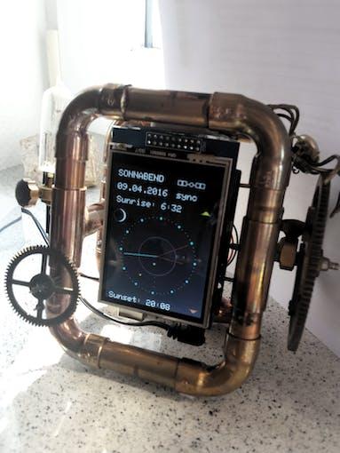 Arduino gps clock project hub