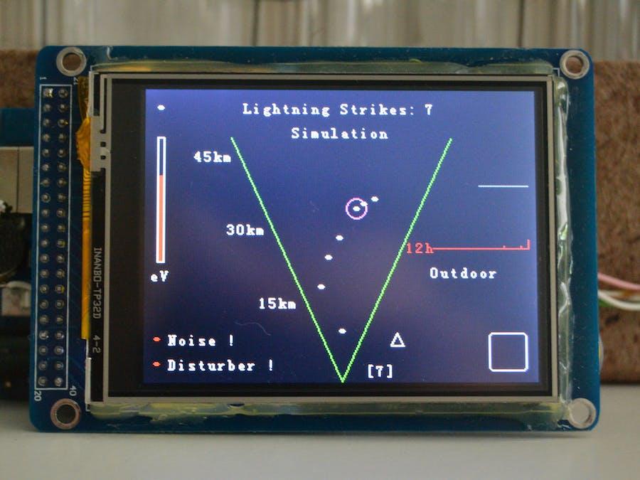 Arduino Lightning Radar