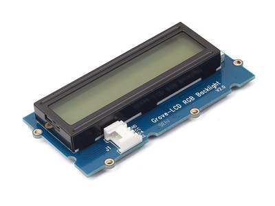 Grove Starter Kit For Arduino --- RGB LCD