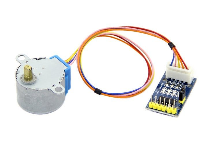 Grove Starter Kit For Arduino --- Stepper Motor & Driver