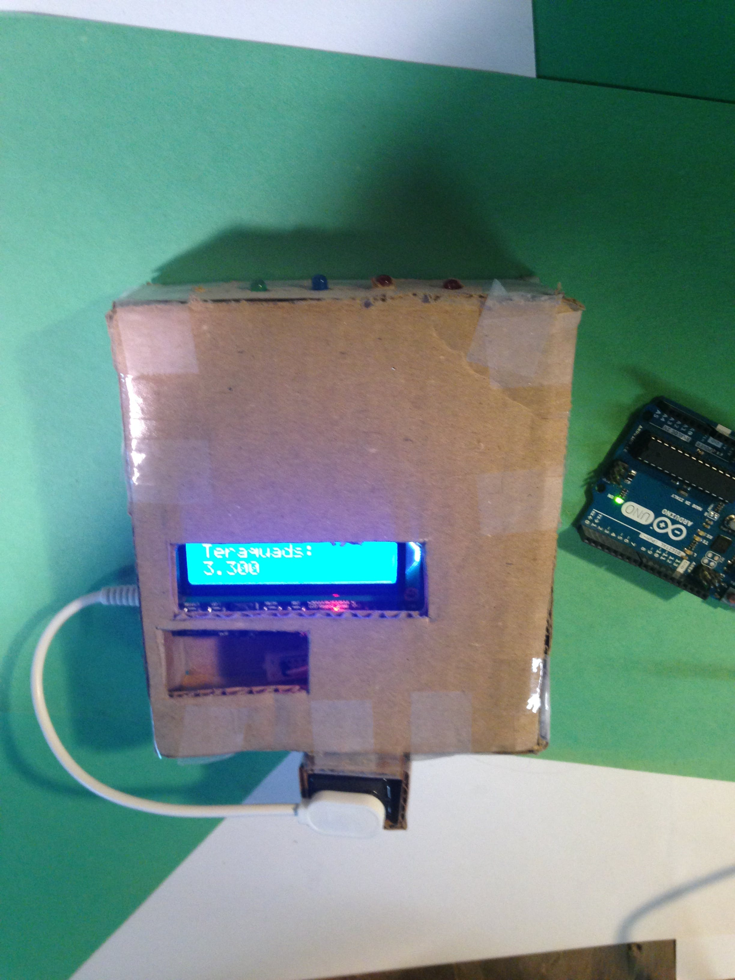 Arduino Star Trek Tricorder (BETA)