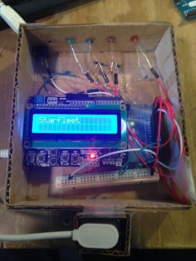 Thermistor and 9V pocket