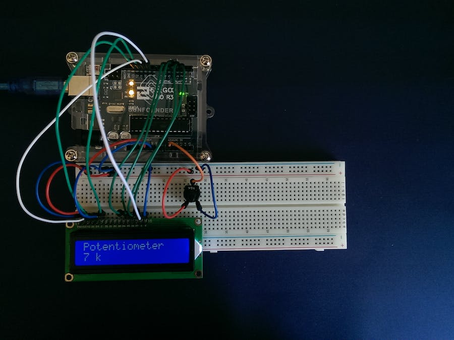 LCD Backlight and Contrast Control