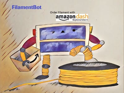 Smart 3D Printer Filament Counter (FilamentBot)
