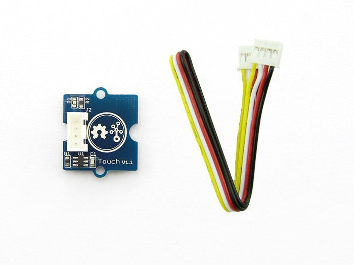 Grove Starter Kit for Arduino: Touch sensor