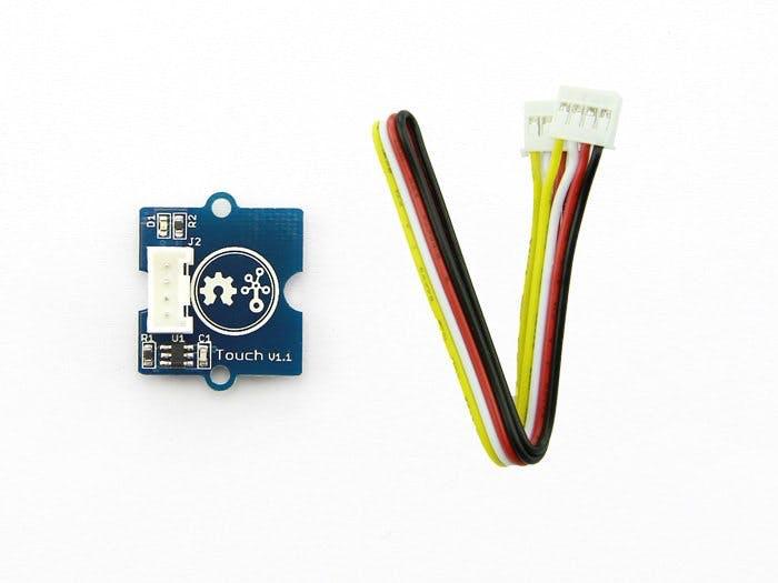 Grove Starter Kit for Arduino: Touch sensor