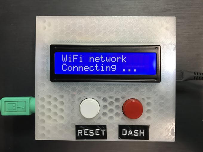 Step 2: FilamentBot WiFi connecting