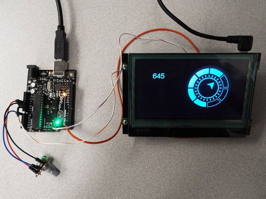 Easiest Way to Add A Full Color LCD Display - Hackster io