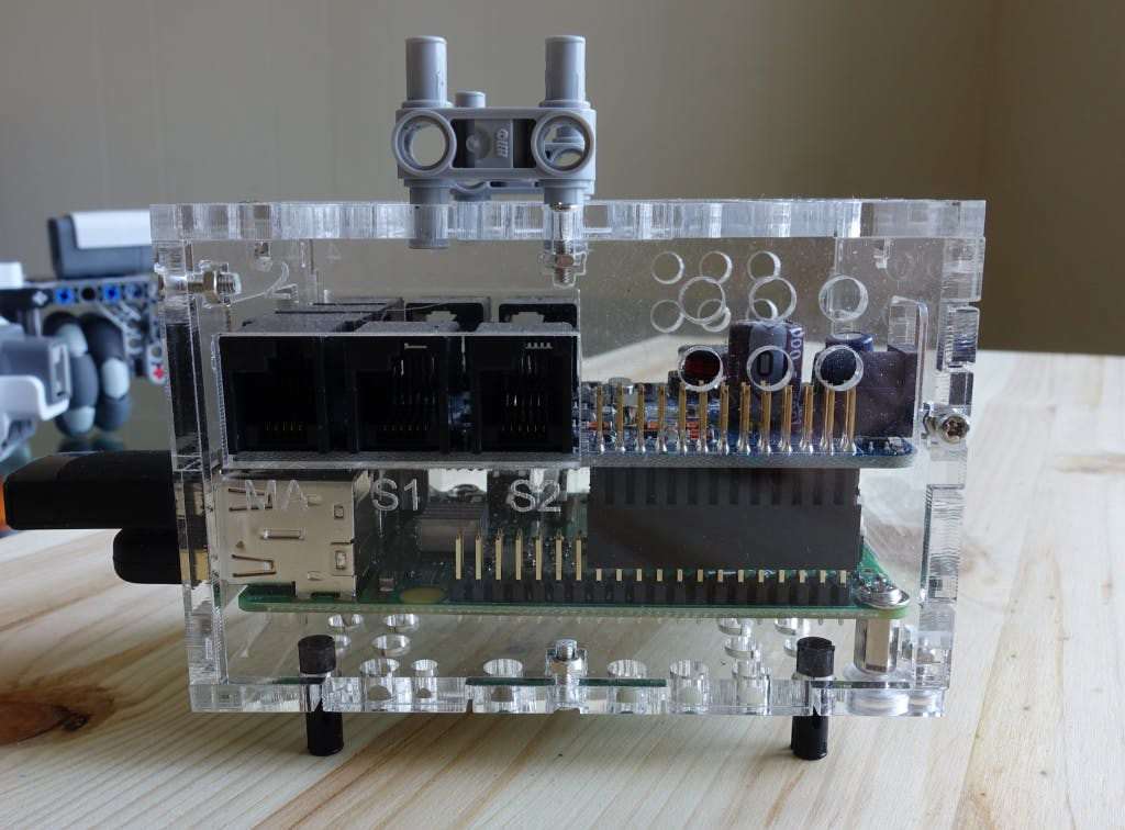 Raspberry Pi 2 and Dexter BrickPi kit