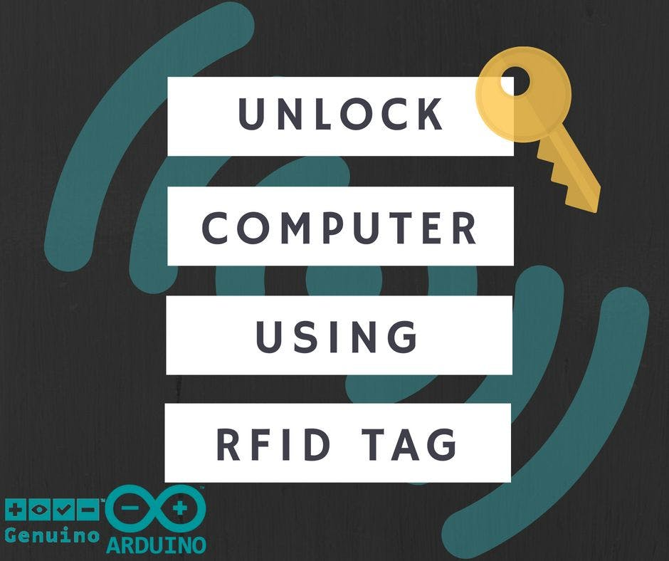 Arduino with RFID TAG