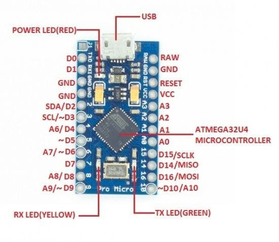 Arduino/Genuino Micro