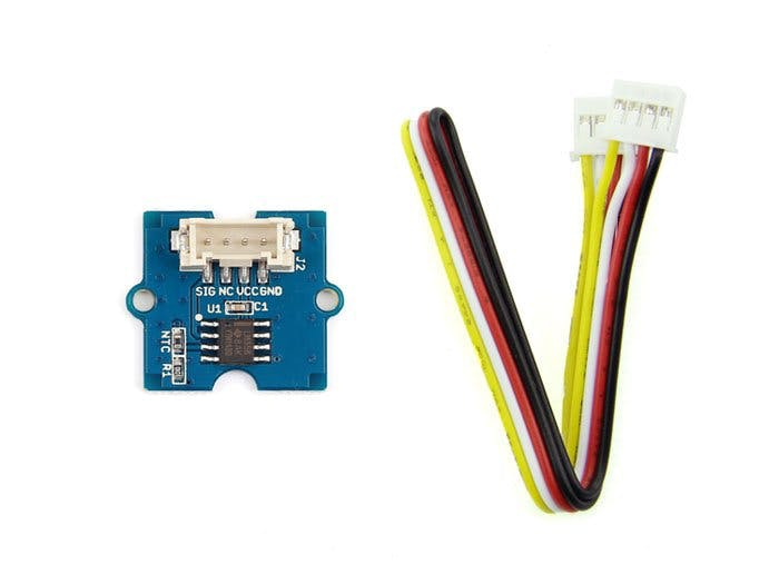 Grove Starter Kit For Arduino --- Temperature Sensor