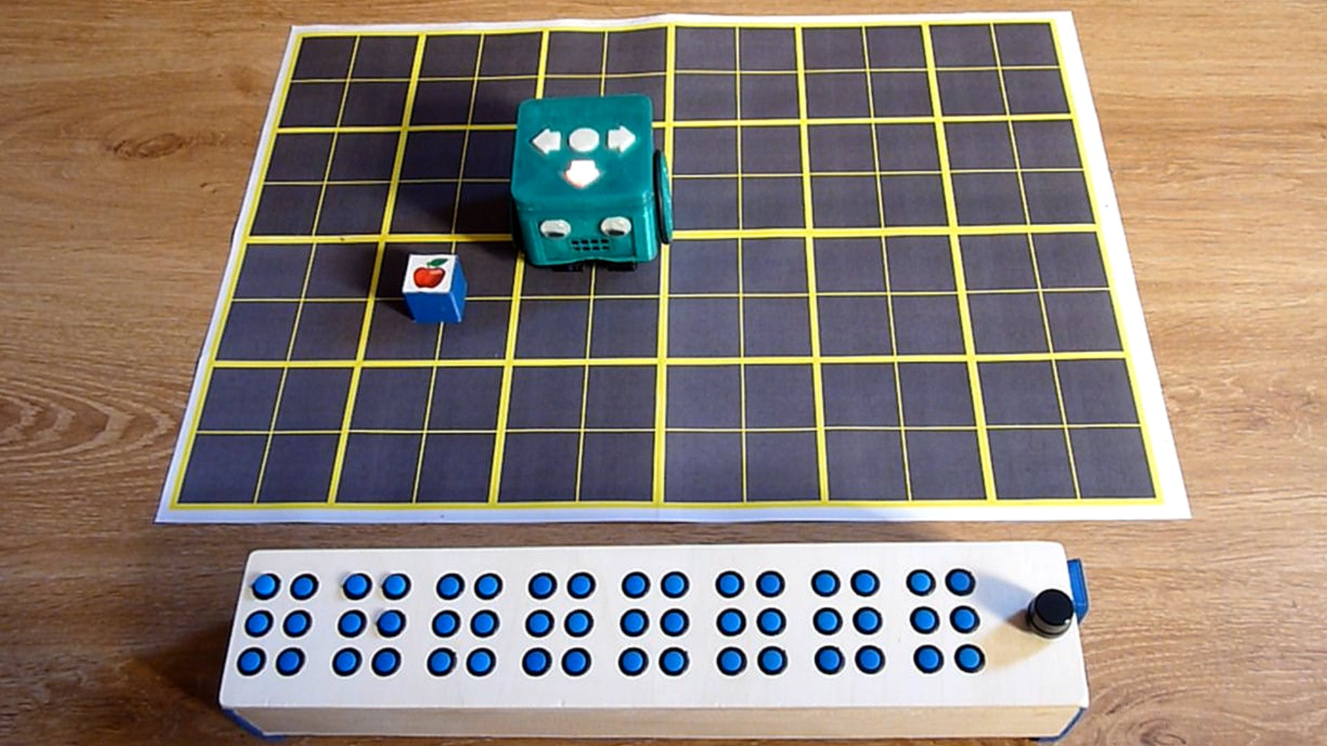 BraiBox (Educational Braille Keyboard & Control Interface)