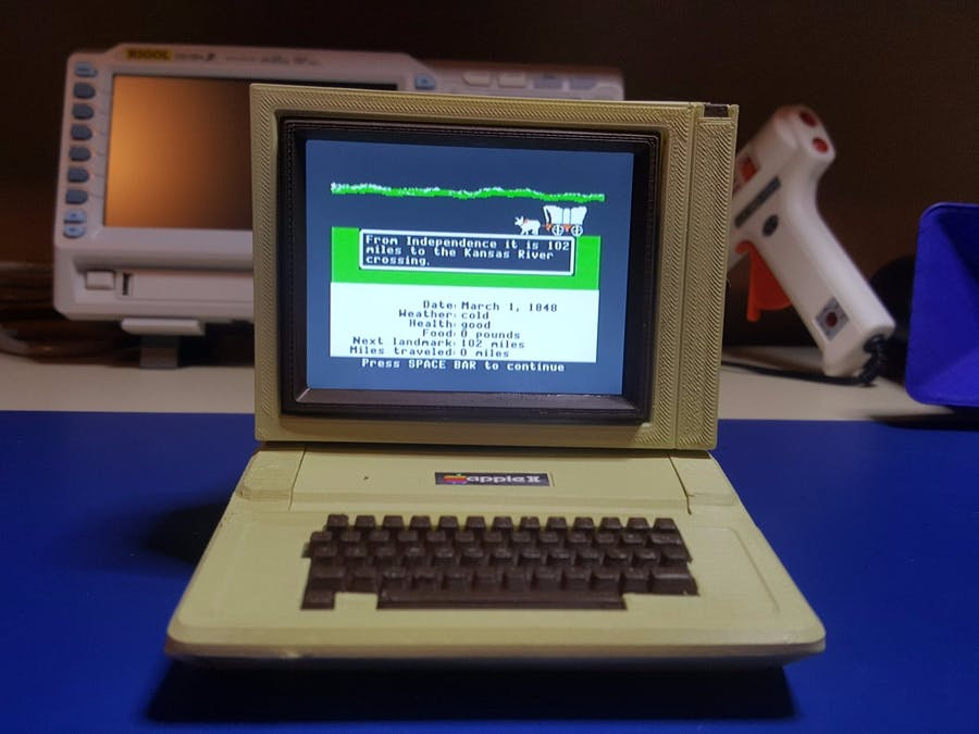 Apple IIe Mini Powered by C.H.I.P.