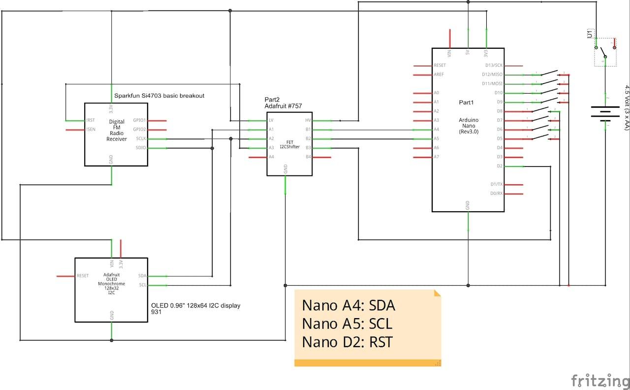 Fm Radio 12 Volt Power Supply Schematic Also Receiver Circuit Diagram