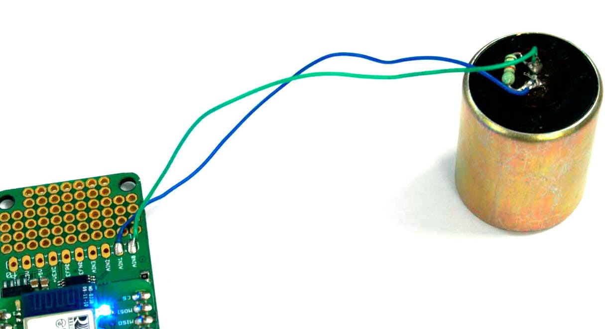 SM-24 sensor connected to OpenPressure