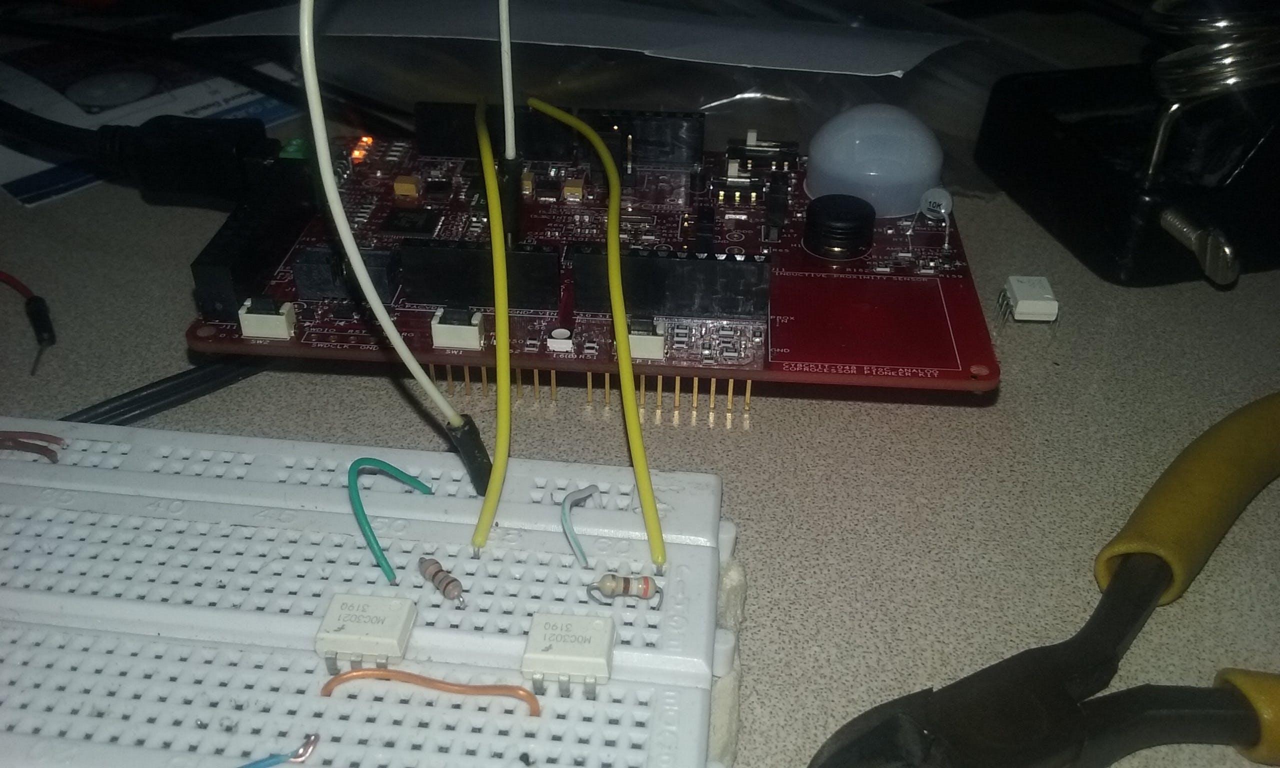 Opto-isolators circuits
