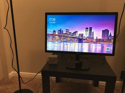 Build a Picture Frame from a PC Monitor and Fire TV Stick