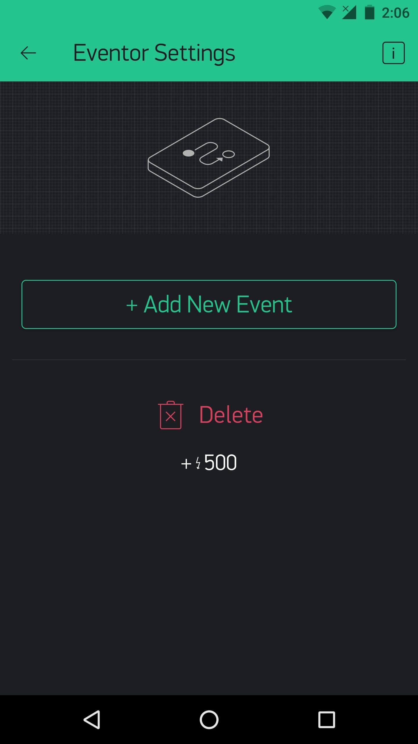 The Eventor widget