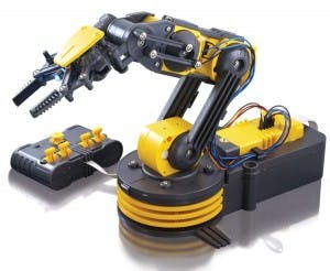 Robot Arm Controlling with JavaScript