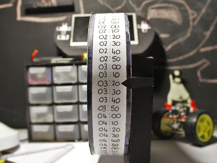 A Weird Arduino Powered Clock