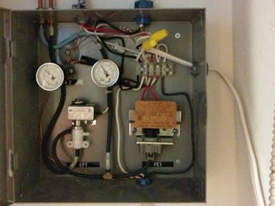 Pneumatic Thermostat Line Voltage Conversion Project