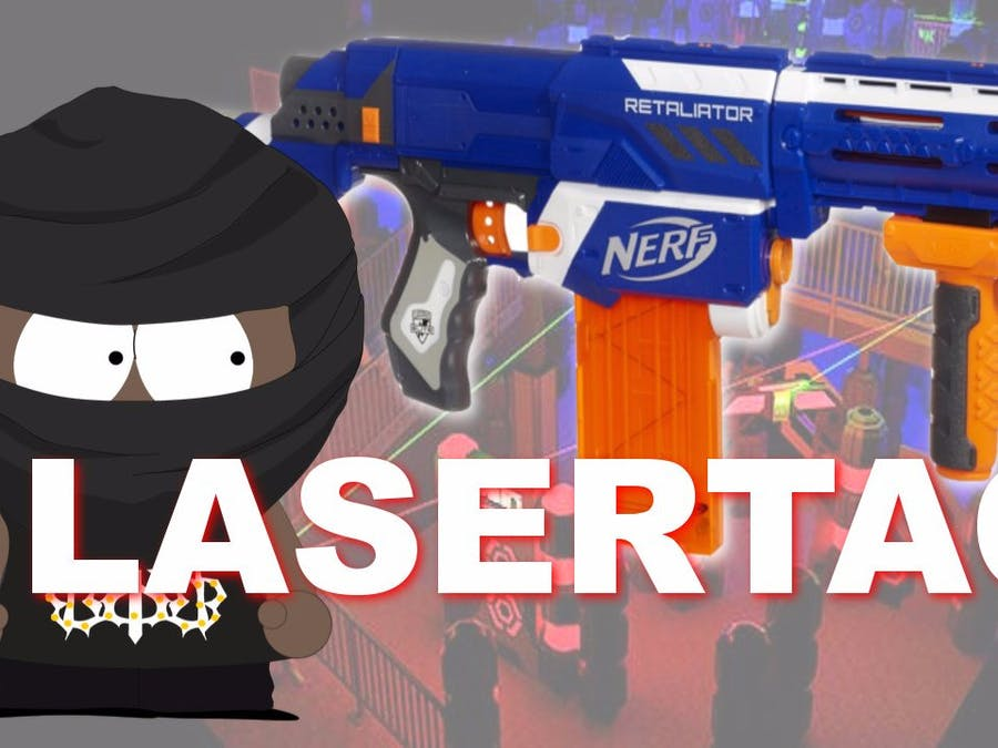 IR Lasertag with Raspberry Pi 3 and Nerf