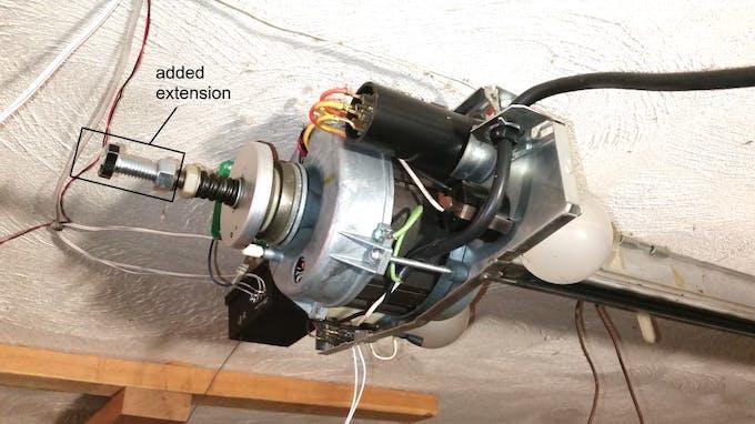 Overkill genie garage door opener for Genie garage door motor