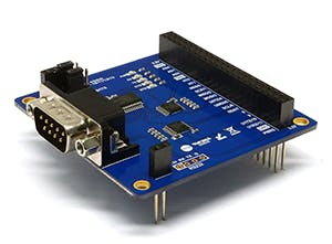 PHPoC RS232 Expansion Board