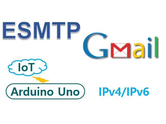 Gmail & Arduino UNO & IPv6