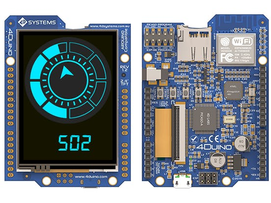 Easyish lcd color display for arduino projects