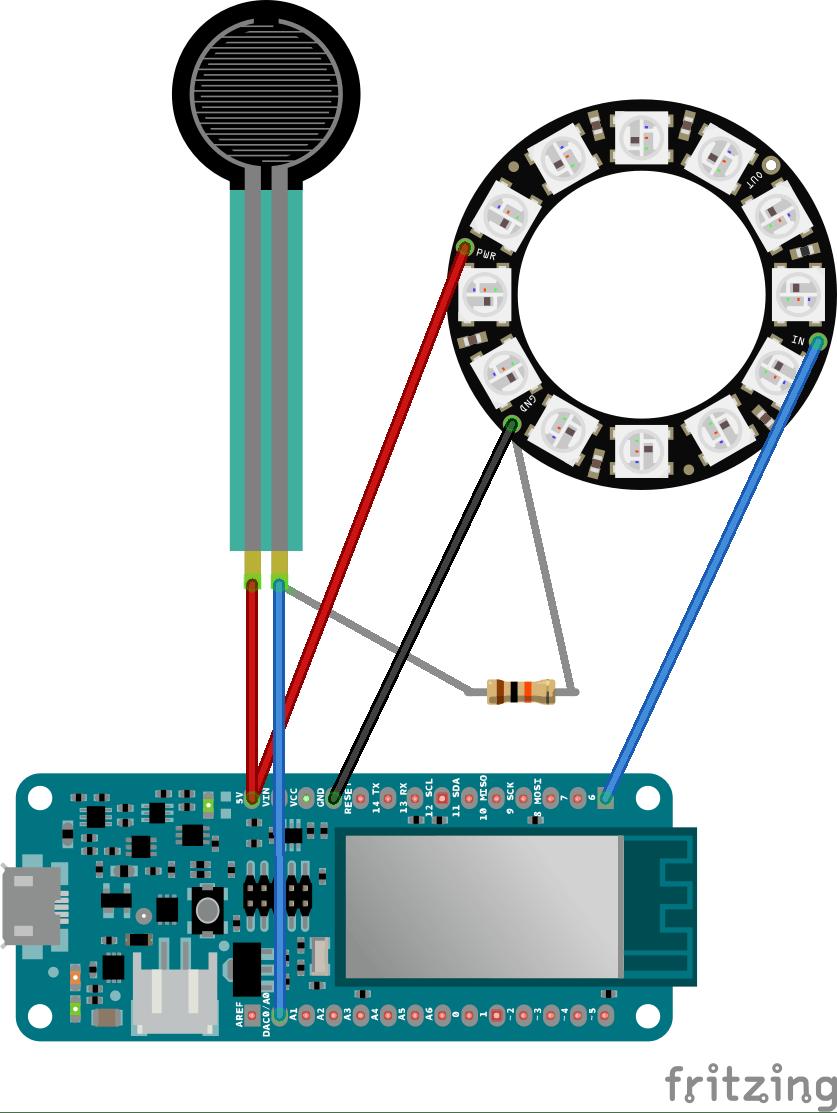 MKR1000 circuit