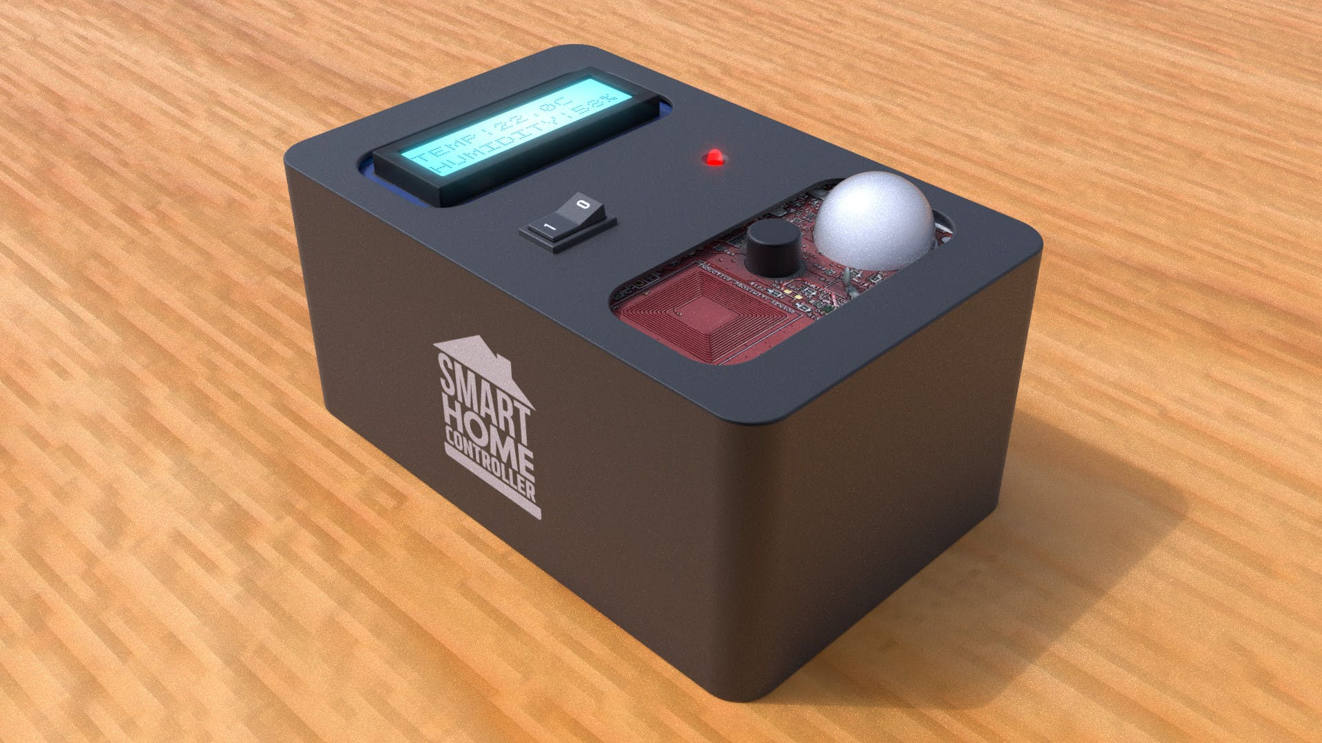 Sample render of the final product