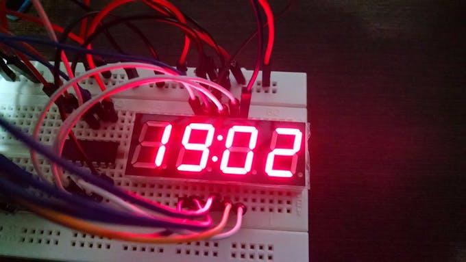 Shift Register triggers LED display