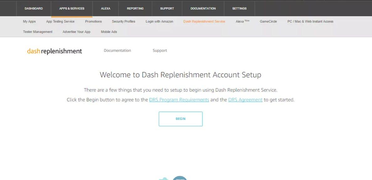 Dash Replenishment Service