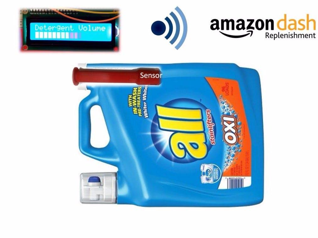 Liquid laundry detergent DRS Sensor (LaundryBot)