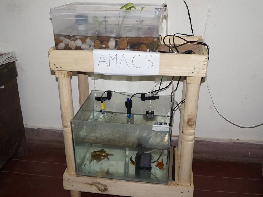 AMACS | Aquaponics Monitoring And Control System
