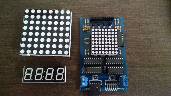 Multiple LED Display Board