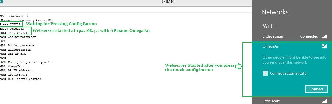 Webserver Started