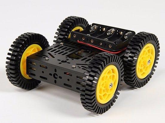 BLE Robot Using Blynk & Arduino