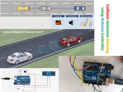 Arduino-based Collision Detection Warning System