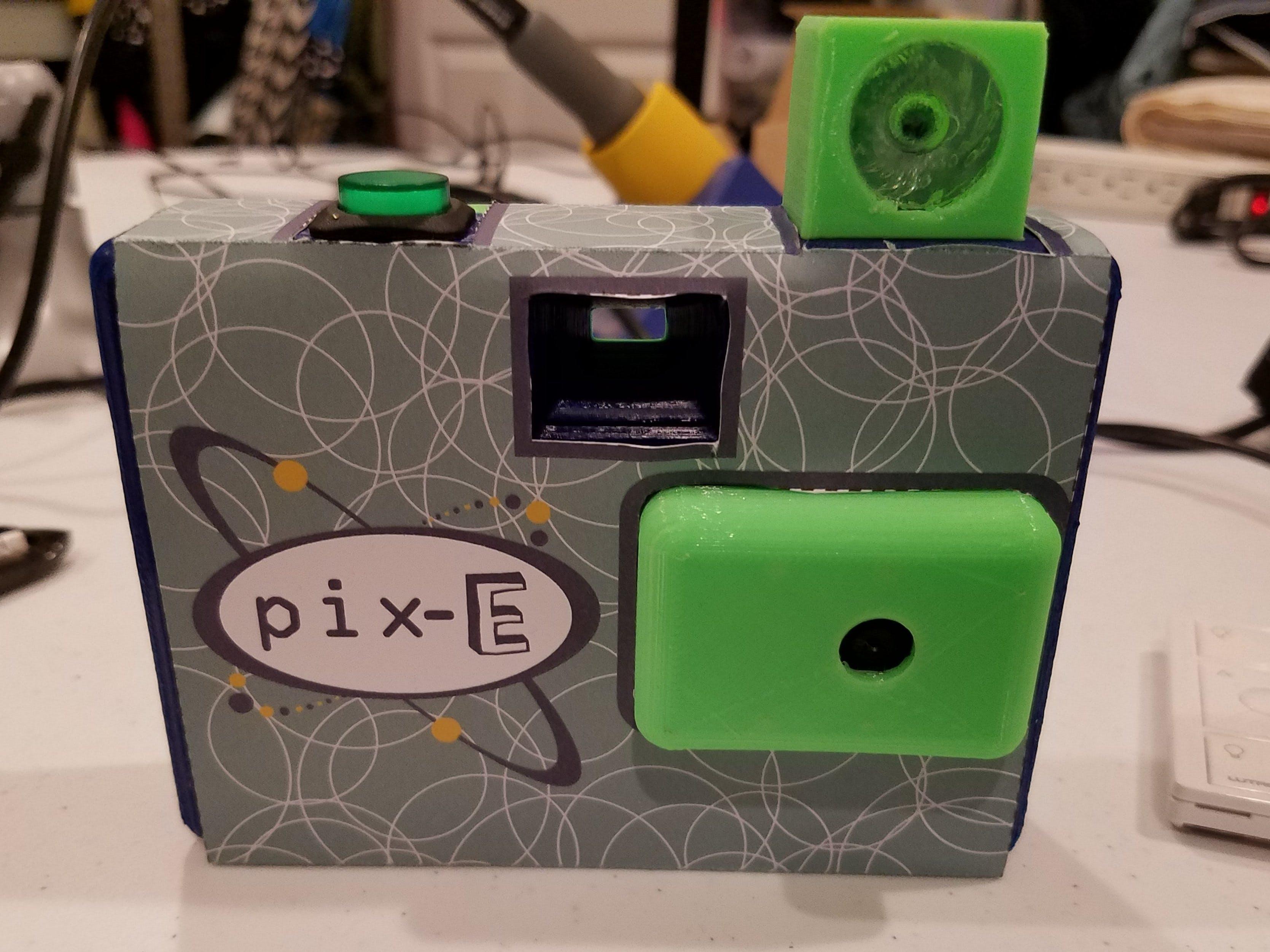 Pix-G IR Flash Pix-E!