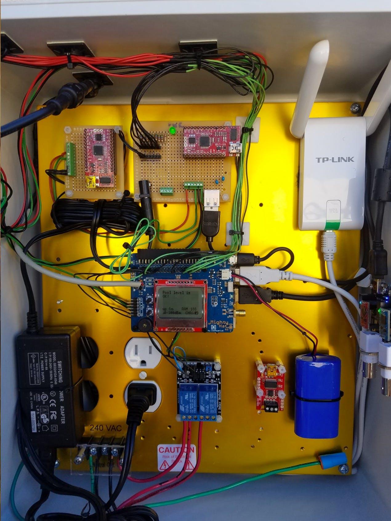 Pool Control System - Internal