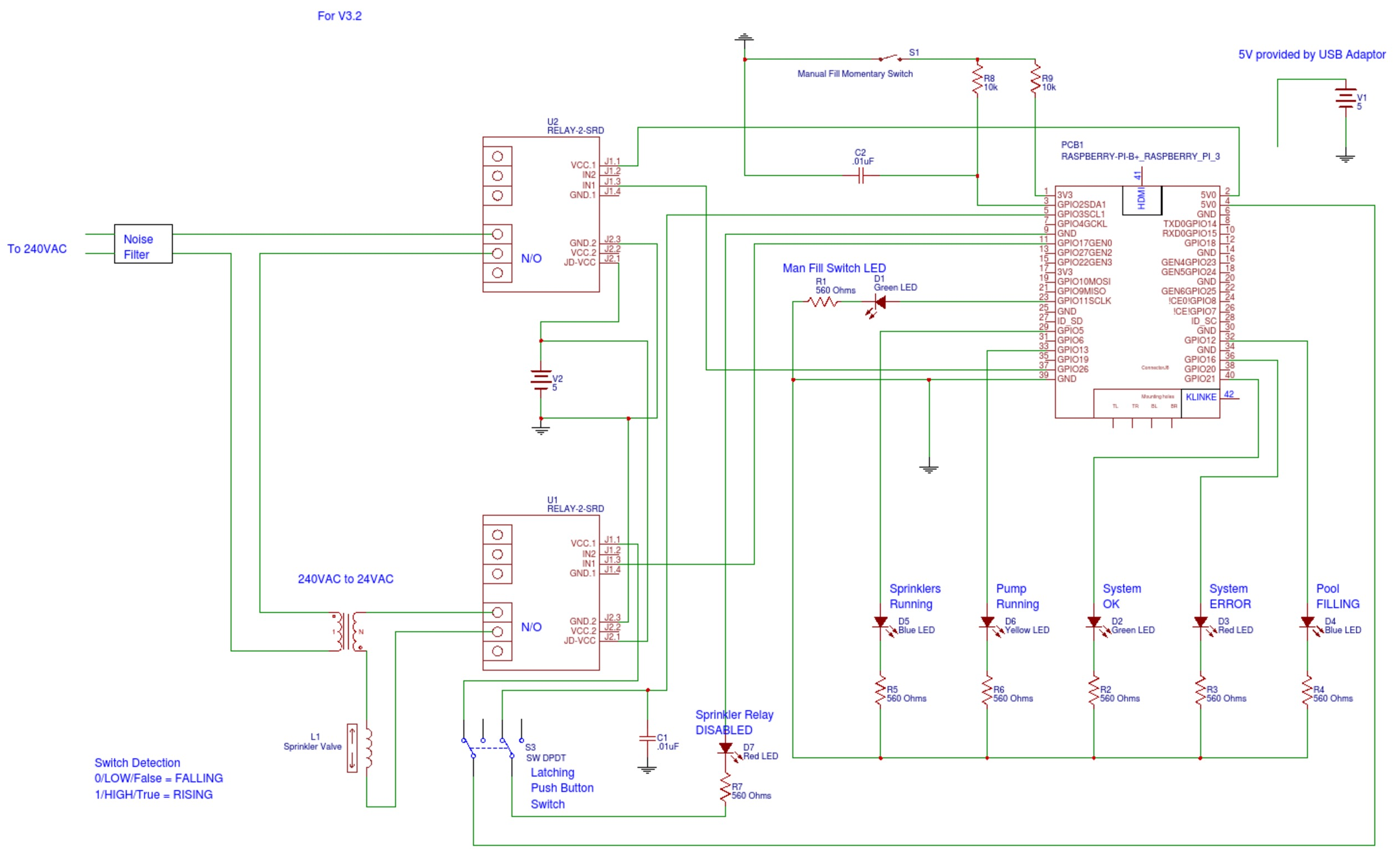 Pool Fill Control Simple Water Level Indicator Circuit Diagram V3 2 Pi3 Pfc Mhlfwf7bip