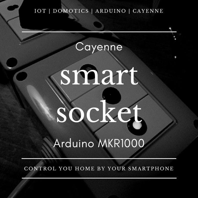 IoT Smart Socket Arduino And Cayenne
