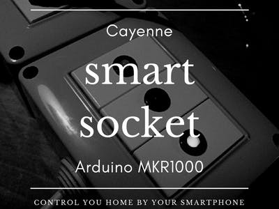 IoT Smart Socket Arduino And Cayenne