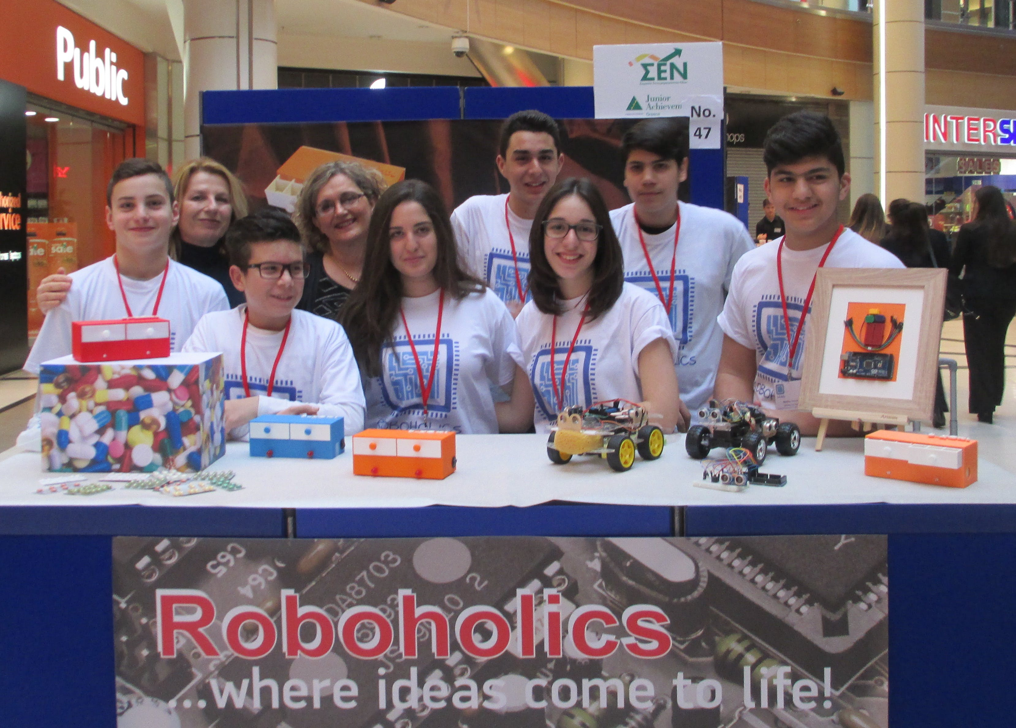 Young Makers Make The Headlines In Greece