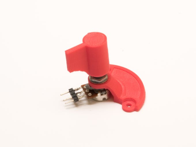Case and Knob for Potentiometer