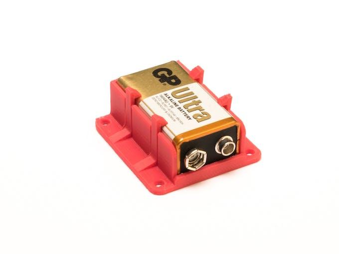 Case for 9v Battery