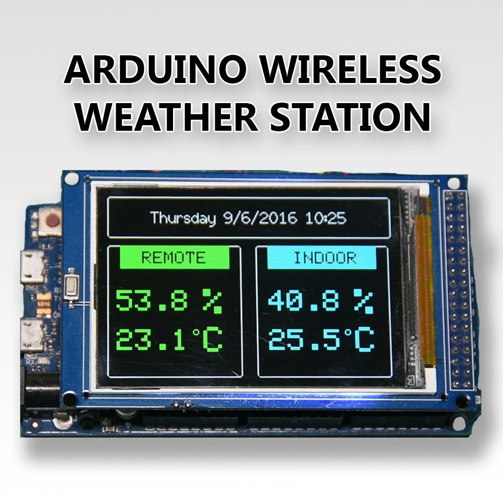 Arduino Wireless Weather Station